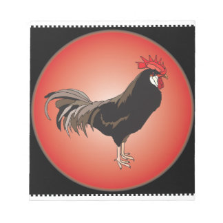 Rooster Showcase Notepad