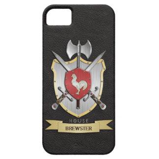Rooster Sigil Battle Crest Black iPhone 5 Cases