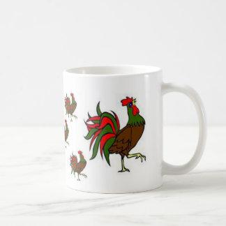 Rooster Strut Coffee Mugs