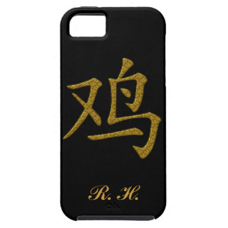 Rooster Symbol Chinese Caligraphy iPhone 5 Covers