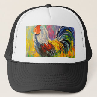 Rooster Trucker Hat
