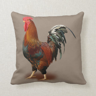 Rooster Vintage Cushion
