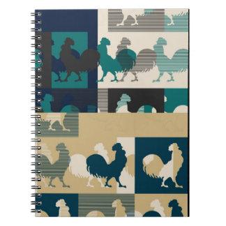 Rooster Vintage Notebook