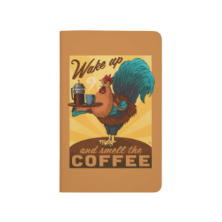 Rooster - Wake up and Smell the Coffee Journal