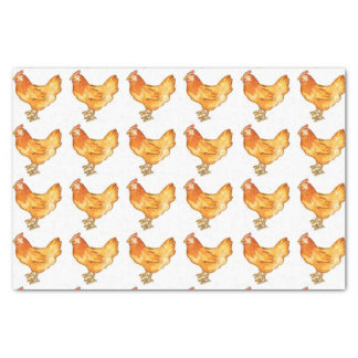 Rooster Wrapping Paper