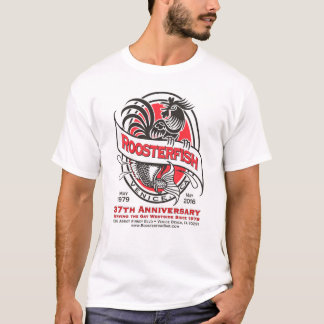 Roosterfish 37th Anniversary White T-shirt