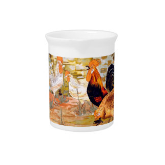 Roosters Beverage Pitchers