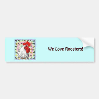 Roosters! Bumper Sticker