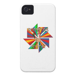 Roosters Rock iPhone 4 Cases