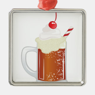 Root Beer Float Christmas Ornament