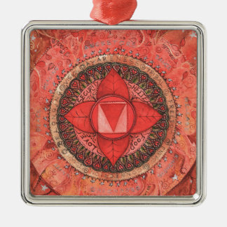 Root Chakra Christmas Ornament