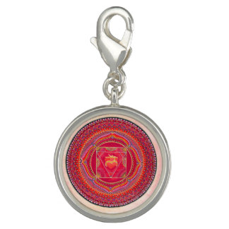 Root Chakra Mandala Charm