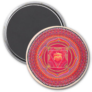 Root Chakra Mandala Magnet