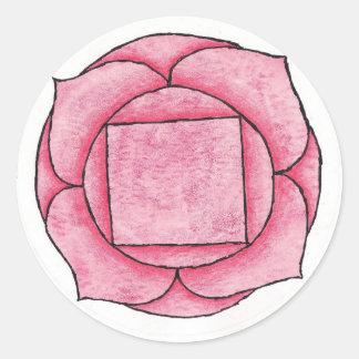 Root Chakra Round Sticker