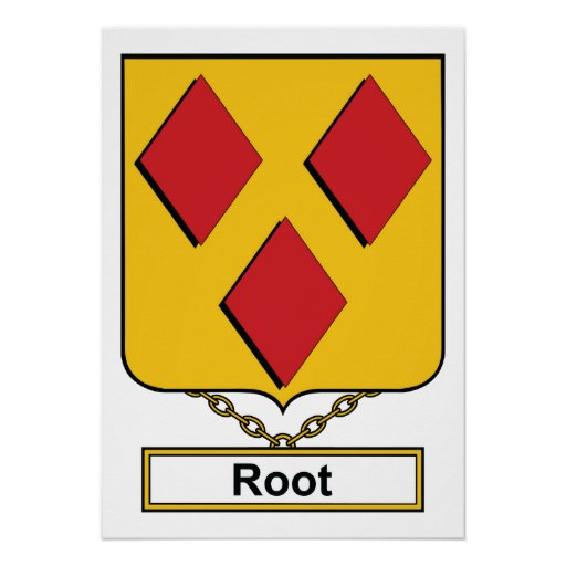 Root Family Crest Print