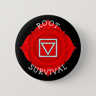 Root Survival Red Chi Chakra Button