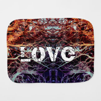 Rooted And Firmly Grounded In Love Lm Burp Cloth