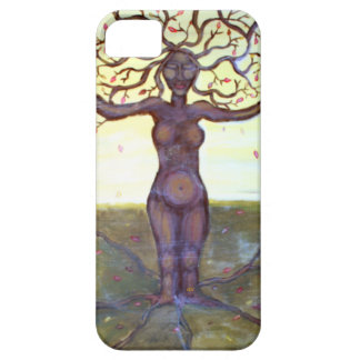 """""""Rooted"""" Tree Goddess Fantasy Art Barely There iPhone 5 Case"""