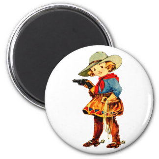 Rootin Tootin' Cowgirl Magnet