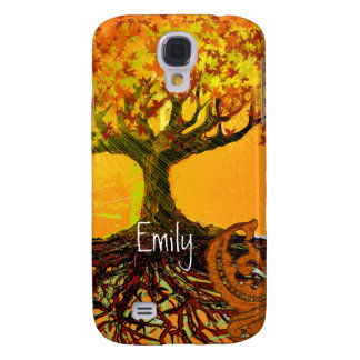 Roots Damask iPhone Cover Samsung Galaxy S4 Cases