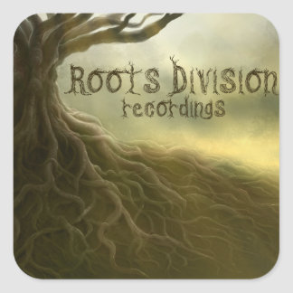 Roots Division Recordings Sticker