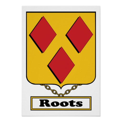 Roots Family Crest Poster