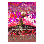 Roots of Love Romantic Oak Tree Wedding Invitation
