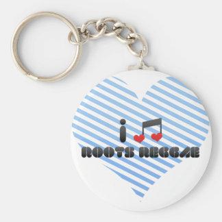 Roots Reggae fan Keychain