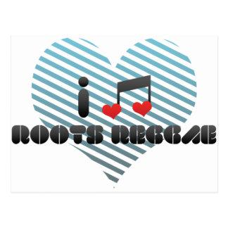 Roots Reggae fan Postcard