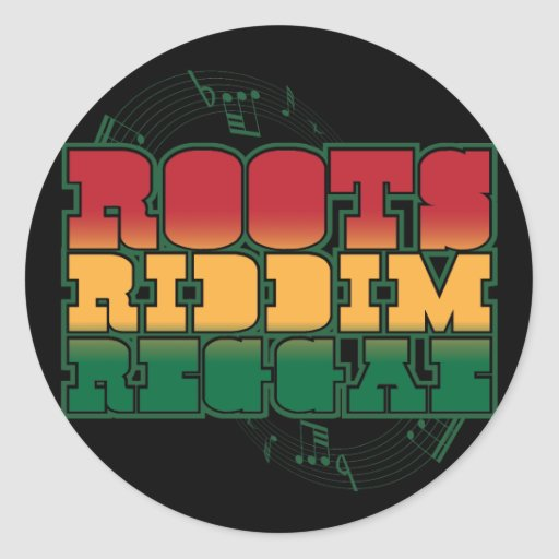 Roots Riddim Reggae Sticker