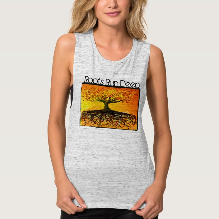 Roots Run Deep Organic T-shirt