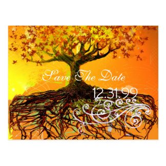 Roots Save The Date Postcard