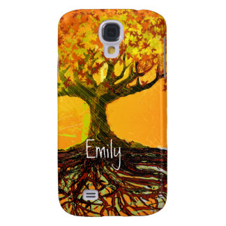 Roots Tree Orangerie iPhone Cover Galaxy S4 Covers