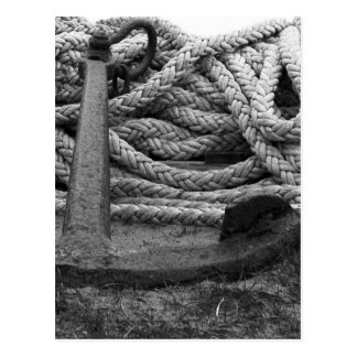 Rope and Anchor Postcard