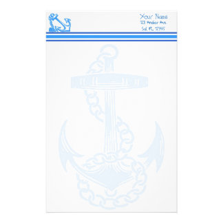 Rope Bound Anchor Personal Stationery