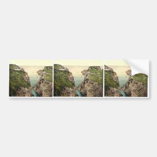 Rope Bridge. Carrick-a-Rede. Co. Antrim, Ireland r Bumper Sticker
