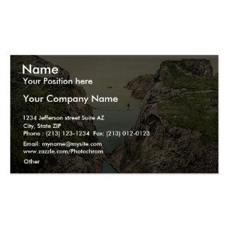 Rope Bridge. Carrick-a-Rede. Co. Antrim, Ireland r Business Card Template