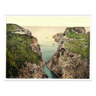 Rope Bridge. Carrick-a-Rede. Co. Antrim, Ireland r Post Card