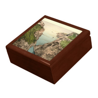 Rope Bridge, Carrick-a-Rede, County Antrim Large Square Gift Box