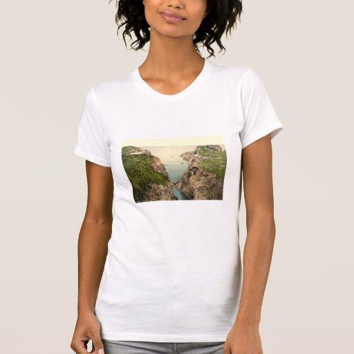 Rope Bridge, Carrick-a-Rede, County Antrim T-shirts