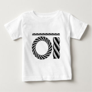 Rope Design Elements Baby T-Shirt