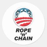 Rope 'n' Chain Classic Round Sticker