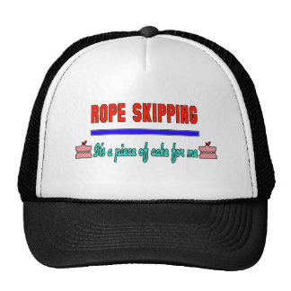 Rope Skipping It's a piece of cake for me Trucker Hat