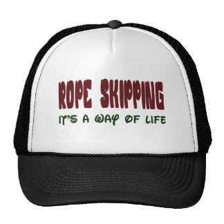 Rope Skipping It's a way of life Trucker Hat