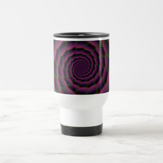 Rope Spiral in Purple Red and Green Coffee Mugs