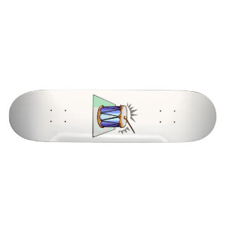 Rope Tension Drum Graphic image design 19.7 Cm Skateboard Deck