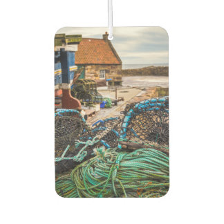 Ropes And Lobster Pots   Pittenweem, Scotland Car Air Freshener