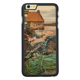 Ropes And Lobster Pots | Pittenweem, Scotland Carved® Maple iPhone 6 Plus Case