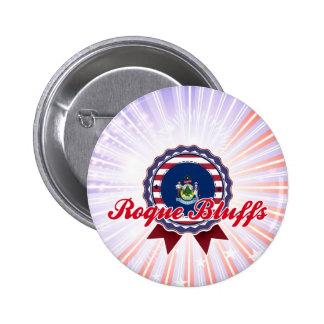 Roque Bluffs, ME 6 Cm Round Badge