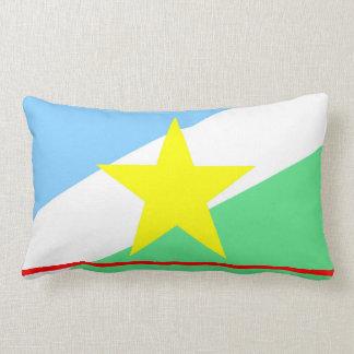 Roraima flag Brazil region province symbol Lumbar Cushion
